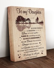 THE MOST IMPORTANT THING - BEST GIFT FOR DAUGHTER 11x14 Gallery Wrapped Canvas Prints aos-canvas-pgw-11x14-lifestyle-front-17