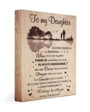 THE MOST IMPORTANT THING - BEST GIFT FOR DAUGHTER 11x14 Gallery Wrapped Canvas Prints front