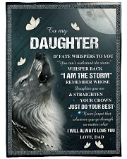 "I WILL ALWAYS LOVE YOU Large Fleece Blanket - 60"" x 80"" front"