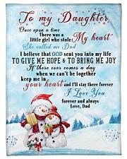 I'LL STAY THERE FOREVER - BEST GIFT FOR DAUGHTER Fleece Blanket tile