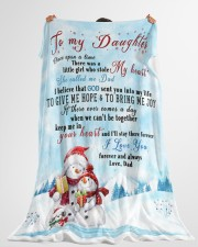 "I'LL STAY THERE FOREVER - BEST GIFT FOR DAUGHTER Large Fleece Blanket - 60"" x 80"" aos-coral-fleece-blanket-60x80-lifestyle-front-10"
