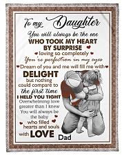 I HELD YOU TIGHT - LOVELY GIFT FOR DAUGHTER Fleece Blanket tile