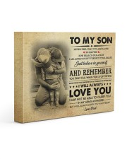 JUST BELIEVE IN YOURSELF - GREAT GIFT FOR SON 14x11 Gallery Wrapped Canvas Prints front