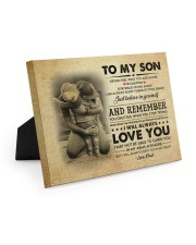 JUST BELIEVE IN YOURSELF - GREAT GIFT FOR SON Easel-Back Gallery Wrapped Canvas tile