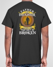 FATHER AND DAUGHTER A SPECIAL BOND Classic T-Shirt garment-tshirt-unisex-back-04