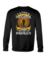 FATHER AND DAUGHTER A SPECIAL BOND Crewneck Sweatshirt tile