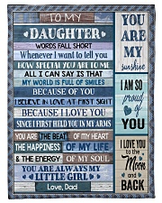 HOW SPECIAL YOU ARE TO ME Fleece Blanket tile