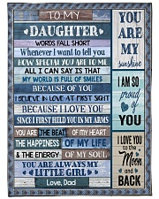 """HOW SPECIAL YOU ARE TO ME Large Fleece Blanket - 60"""" x 80"""" front"""