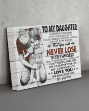 IN YOUR HEART - SPECIAL GIFT FOR DAUGHTER 14x11 Gallery Wrapped Canvas Prints aos-canvas-pgw-14x11-lifestyle-front-15