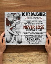 IN YOUR HEART - SPECIAL GIFT FOR DAUGHTER 14x11 Gallery Wrapped Canvas Prints aos-canvas-pgw-14x11-lifestyle-front-34