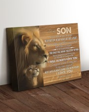 BELIEVE IN YOURSELF - LOVELY GIFT FOR SON 14x11 Gallery Wrapped Canvas Prints aos-canvas-pgw-14x11-lifestyle-front-17