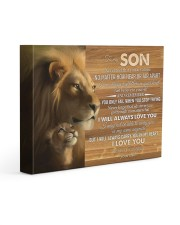 BELIEVE IN YOURSELF - LOVELY GIFT FOR SON 14x11 Gallery Wrapped Canvas Prints front