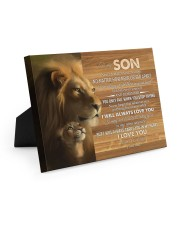 BELIEVE IN YOURSELF - LOVELY GIFT FOR SON 10x8 Easel-Back Gallery Wrapped Canvas thumbnail