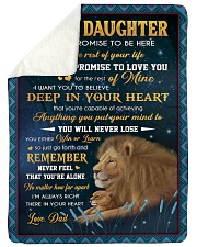 YOU WILL NEVER LOSE - LOVELY GIFT FOR DAUGHTER Sherpa Fleece Blanket tile