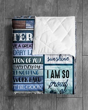 "1 DAY LEFT - GET YOURS NOW Quilt 60""x70"" - Twin aos-quilt-60x70-lifestyle-closeup-front-04"
