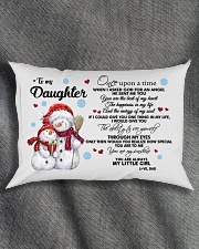YOU ARE MY SUNSHINE - GREAT GIFT FOR DAUGHTER Rectangular Pillowcase aos-pillow-rectangle-front-lifestyle-1