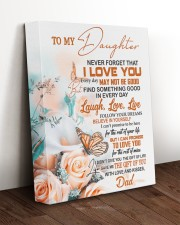 FOLLOW YOUR DREAM - BEAUTIFUL GIFT FOR DAUGHTER 11x14 Gallery Wrapped Canvas Prints aos-canvas-pgw-11x14-lifestyle-front-17