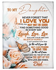 """FOLLOW YOUR DREAM - BEAUTIFUL GIFT FOR DAUGHTER Small Fleece Blanket - 30"""" x 40"""" thumbnail"""