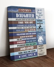 YOU WILL NEVER LOSE - LOVELY GIFT FOR DAUGHTER 11x14 Gallery Wrapped Canvas Prints aos-canvas-pgw-11x14-lifestyle-front-17