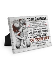 BELIEVE IN YOURSELF - LOVELY GIFT FOR DAUGHTER Easel-Back Gallery Wrapped Canvas tile