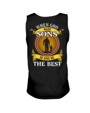 HE GAVE ME THE BEST - PERFECT GIFT FOR DAD Unisex Tank tile
