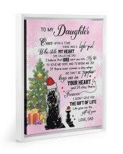 KEEP ME IN YOUR HEART - LOVELY GIFT FOR DAUGHTER 11x14 White Floating Framed Canvas Prints thumbnail