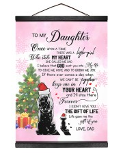 KEEP ME IN YOUR HEART - LOVELY GIFT FOR DAUGHTER 12x16 Black Hanging Canvas thumbnail