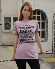 HE LOVES ME SO MUCH - LOVELY GIFT FOR DAUGHTER Classic T-Shirt apparel-classic-tshirt-lifestyle-19