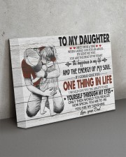 ONE THING IN LIFE-BEST GIFT FOR DAUGHTER FROM DAD 14x11 Gallery Wrapped Canvas Prints aos-canvas-pgw-14x11-lifestyle-front-15