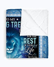 "1 DAY LEFT - GET YOURS NOW Quilt 60""x70"" - Twin aos-quilt-60x70-lifestyle-closeup-front-01"