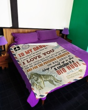 "1 DAY LEFT - GET YOURS NOW Large Fleece Blanket - 60"" x 80"" aos-coral-fleece-blanket-60x80-lifestyle-front-01"