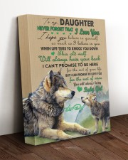 BELIEVE IN YOURSELF - TO DAUGHTER FROM DAD 11x14 Gallery Wrapped Canvas Prints aos-canvas-pgw-11x14-lifestyle-front-17