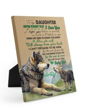 BELIEVE IN YOURSELF - TO DAUGHTER FROM DAD Easel-Back Gallery Wrapped Canvas tile