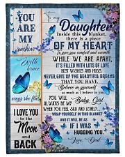 BELIEVE IN YOURSELF - GREAT GIFT FOR DAUGHTER Fleece Blanket tile