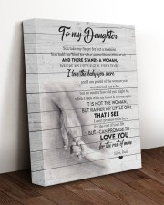 I LOVE THE BABY YOU WERE - BEST GIFT FOR DAUGHTER 11x14 Gallery Wrapped Canvas Prints aos-canvas-pgw-11x14-lifestyle-front-17