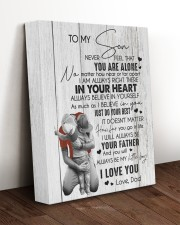 I LOVE YOU - BEST GIFT FOR SON 11x14 Gallery Wrapped Canvas Prints aos-canvas-pgw-11x14-lifestyle-front-17