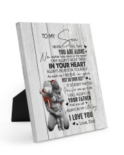 I LOVE YOU - BEST GIFT FOR SON 8x10 Easel-Back Gallery Wrapped Canvas thumbnail