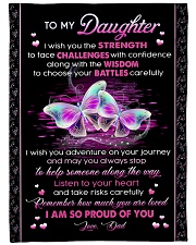 """I AM SO PROUD OF YOU Large Fleece Blanket - 60"""" x 80"""" front"""