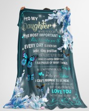 """I AM PROUD OF MANY THINGS - BEST GIFT FOR DAUGHTER Large Fleece Blanket - 60"""" x 80"""" aos-coral-fleece-blanket-60x80-lifestyle-front-10"""