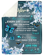 """I AM PROUD OF MANY THINGS - BEST GIFT FOR DAUGHTER Large Sherpa Fleece Blanket - 60"""" x 80"""" thumbnail"""