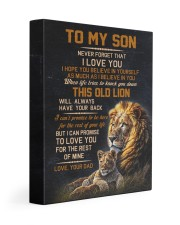 THIS OLD LION - BEST GIFT FOR SON FROM DAD 11x14 Gallery Wrapped Canvas Prints front