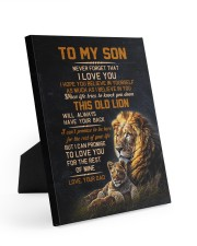 THIS OLD LION - BEST GIFT FOR SON FROM DAD Easel-Back Gallery Wrapped Canvas tile