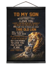 THIS OLD LION - BEST GIFT FOR SON FROM DAD Hanging Canvas tile