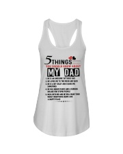 5 THINGS YOU SHOULD KNOW ABOUT MY DAD Ladies Flowy Tank tile