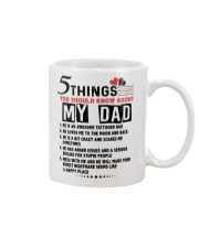 5 THINGS YOU SHOULD KNOW ABOUT MY DAD Mug tile