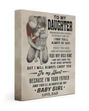 CARRY YOU IN MY HEART - LOVELY GIFT FOR DAUGHTER 11x14 Gallery Wrapped Canvas Prints front