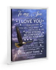 ALWAYS REMEMBER HOW MUCH I LOVE YOU 11x14 White Floating Framed Canvas Prints thumbnail