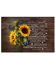 BELIEVE IN YOURSELF - PERFECT GIFT FOR DAUGHTER Horizontal Poster tile