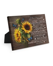 BELIEVE IN YOURSELF - PERFECT GIFT FOR DAUGHTER Easel-Back Gallery Wrapped Canvas tile