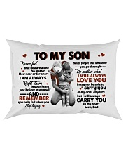 I WILL ALWAYS LOVE YOU - TO SON FROM DAD Rectangular Pillowcase front